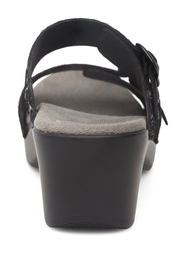 Dansko Sophie (Black Drizzle Suede Leather)