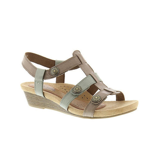 Cobb Hill Harper Adjustable Sandal (Khaki)