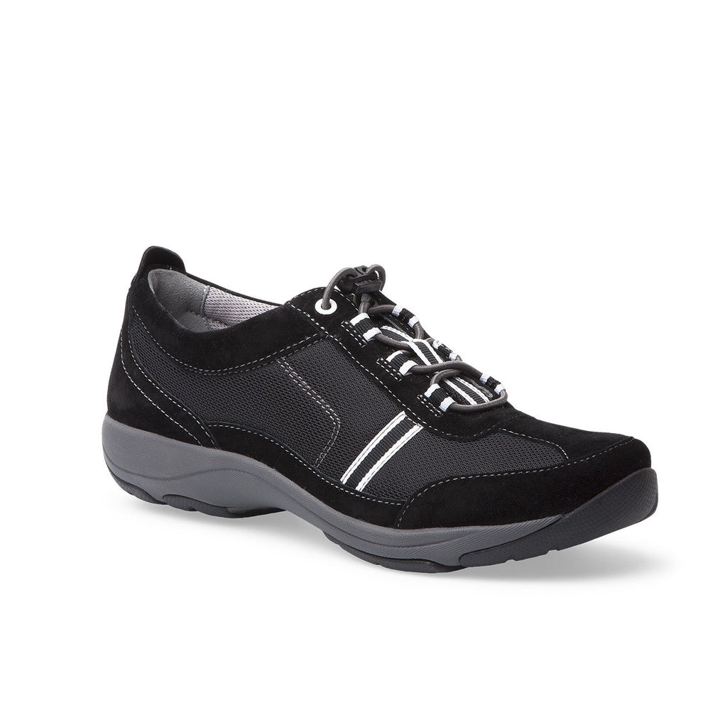 Dansko Helen (Black /White Suede Leather)