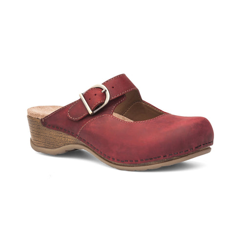Dansko Martina (Red Antiqued Oiled Leather)