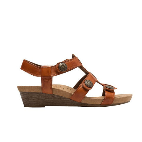 Cobb Hill Harper Adjustable Sandal (Spice)