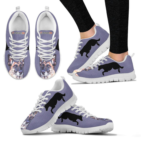 Belgian Malinois Dog-Women's Running Shoes-Free Shipping