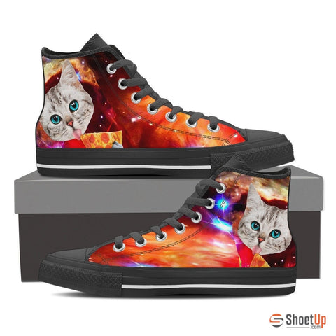 Cat Printed-Women's High Top Canvas Shoe-Free Shipping