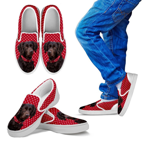 Boykin Spaniel Dog Kid's Slip On - Free Shipping