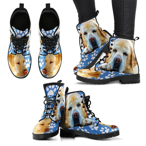 Labrador Retriever Women Suede Fashion Boots - Free Shipping