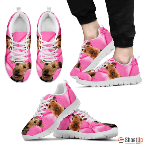 Welsh Terrier Dog Running Shoes For Men-Free Shipping