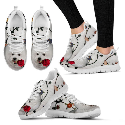Bichon Frise Dog Running Shoes - Free Shipping