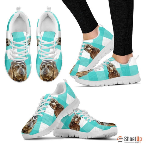 Brown Labradoodle Women Running Shoes - Free Shipping