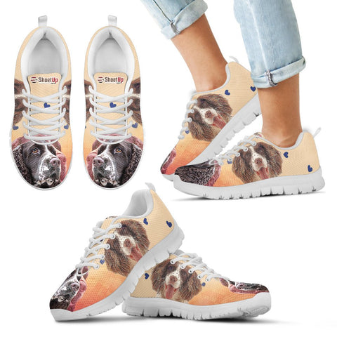 English Springer Spaniel  Kid's Running Shoes - Free Shipping