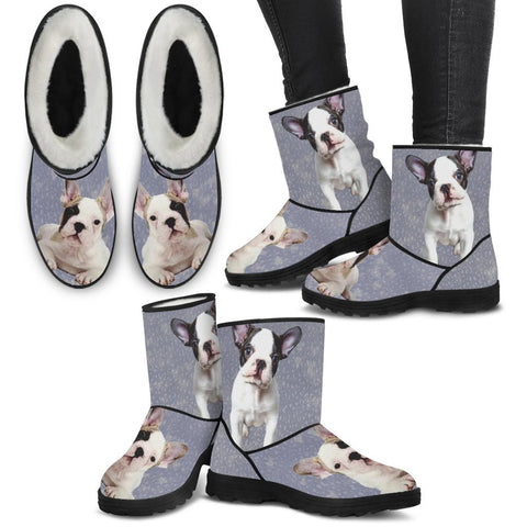 French Bulldog Women Fashion Boots- Free Shipping