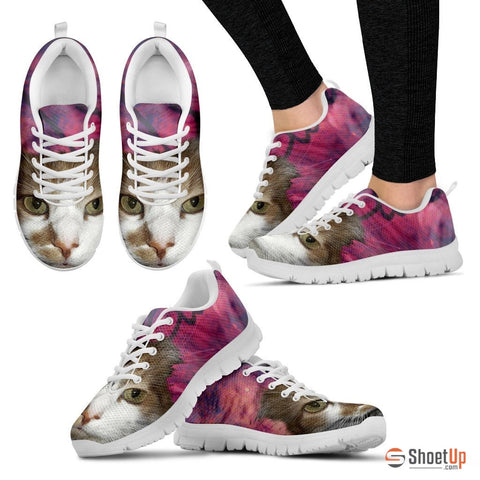 Cat Women Pink Running Shoes - Free Shipping