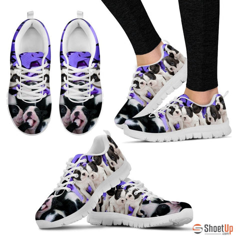 Shoetup - Boston Terrier Group-Dog Running Shoes For Women