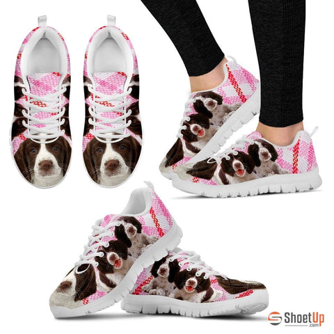 Shoetup - English Springer Spaniel-Dog Running Shoes For Women