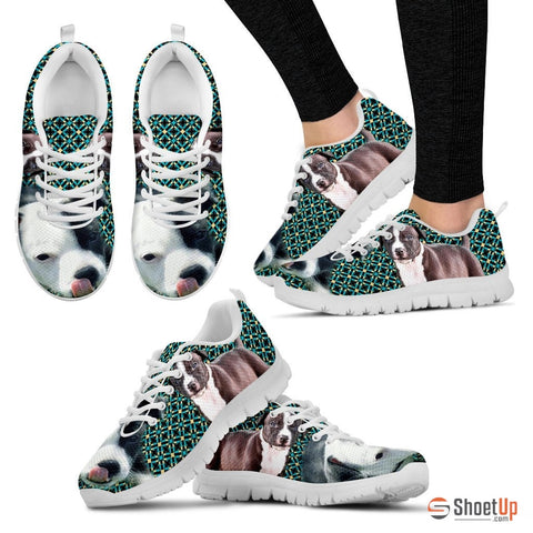 American Staffordshire Terrier-Dog Running Shoes - Free Shipping