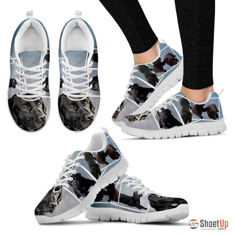 Labrador print Running Shoes - Free Shipping