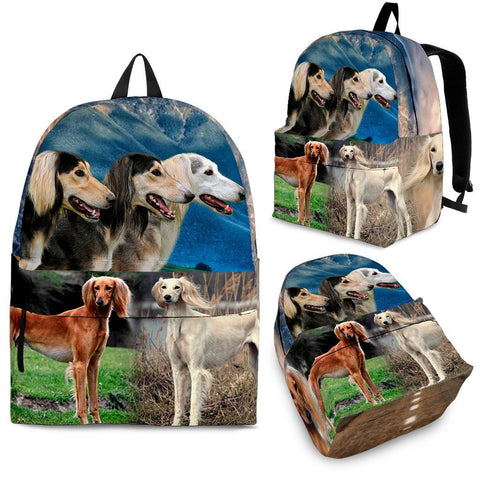 Saluki Dog Backpack- Free Shipping