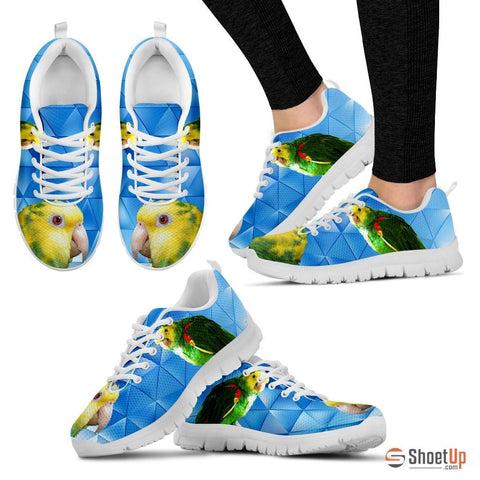 Yellow Headed Parrot Running Shoes - Free Shipping