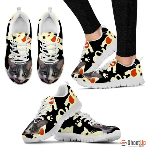 Elisa Pelletier/Cat-Running Shoes For Women-3D Print-Free Shipping