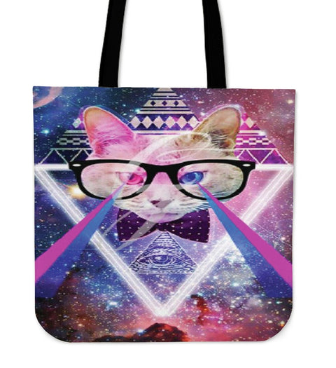 Magical Cat Tote Bag - Free Shipping