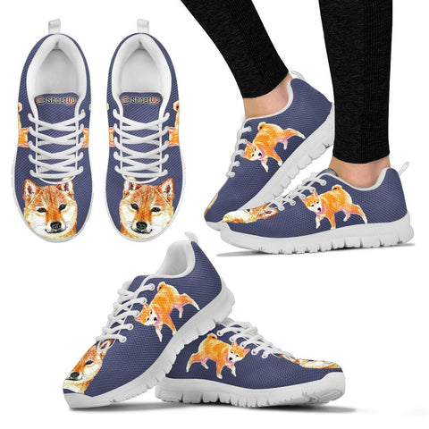 Shiba Inu Dog-Women's Running Shoes-Free Shipping