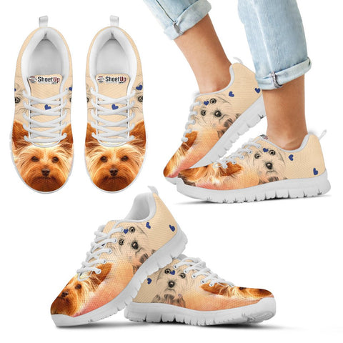 Cute Yorkshire Terrier Running Shoes - Free Shipping