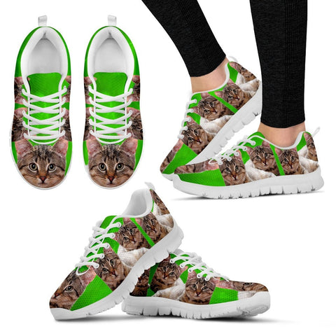 California Spangled Cat Women Running Shoes - Free Shipping