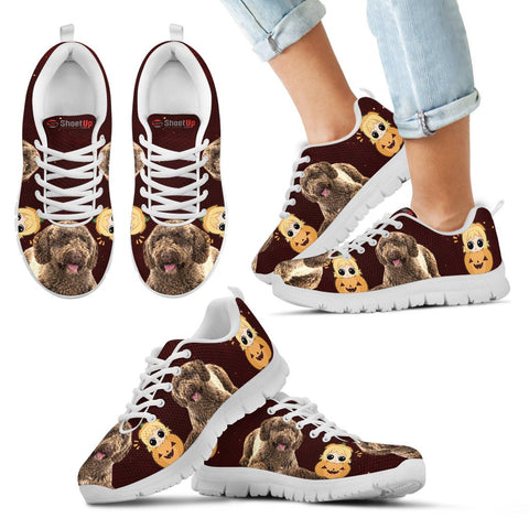 Spanish Water Dog Halloween Print Running Shoes - Free Shipping
