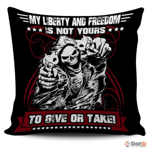 Liberty and Freedom - Pillow Cover (Free Shipping)