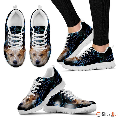 Australian Cattle Dog Print Running Shoes - Free Shipping