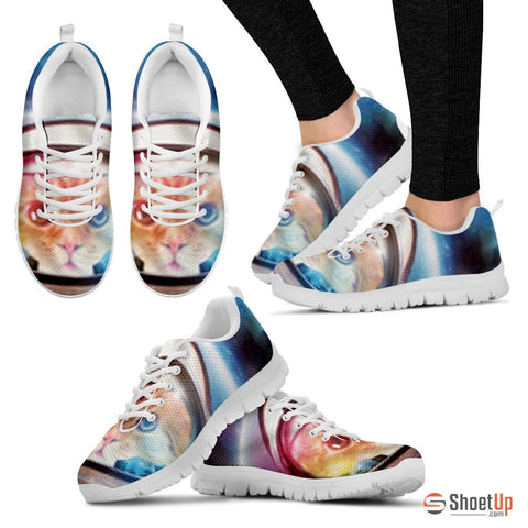 Psychadelic Cat Women Running Shoes - Free Shipping