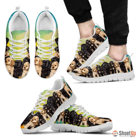Cocker Spaniel Men Running Shoes - Free Shipping