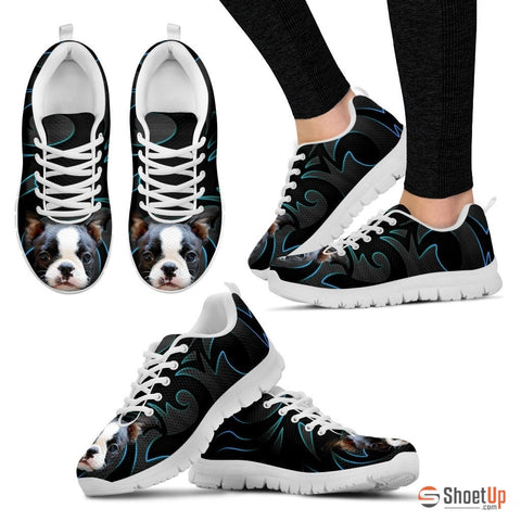 Shoetup - Boston Terrier Running Shoe For Women
