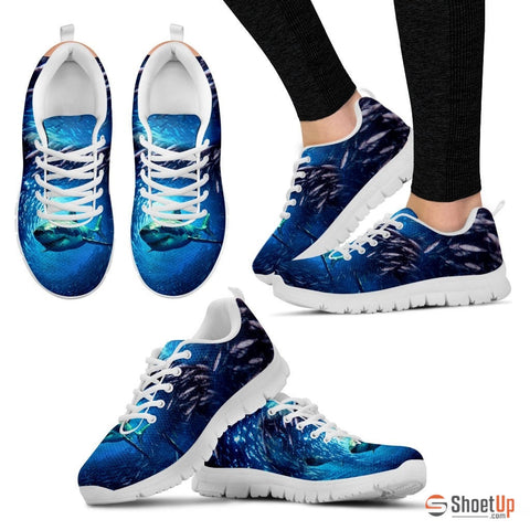 Dolphin Shark Running Shoes(Men/Women)-3D Print-Free Shipping
