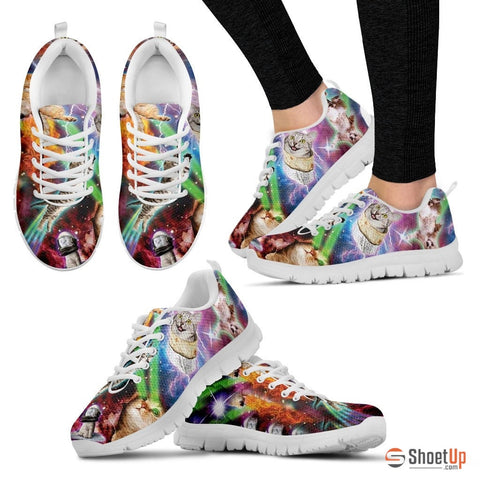 Printed Women's Running Shoes - Free Shipping