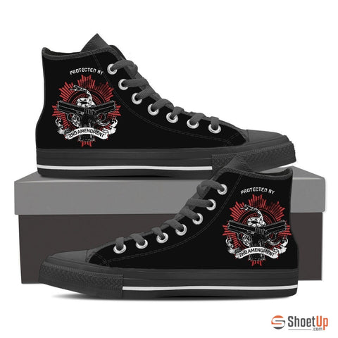 Protected by 2AM - Men's Canvas High Tops- Free Shipping