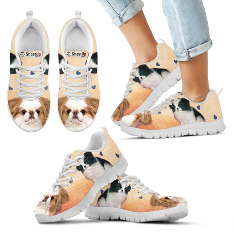 Cute Japanese Chin Kids Running Shoes - Free Shipping