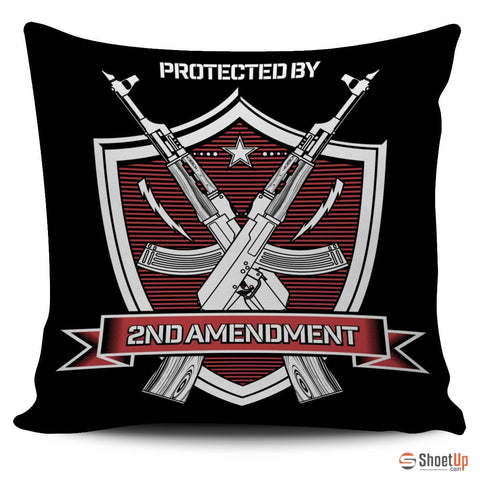 2nd Amendment-Pillow Cover-Free Shipping
