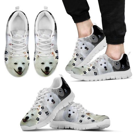 Cute American Eskimo Shoe For Men- Free Shipping