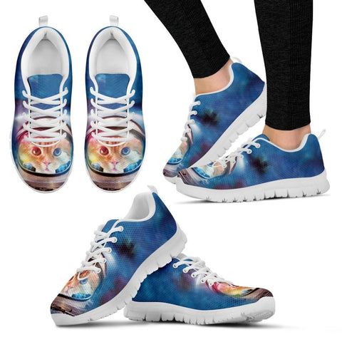 Galaxy Space Cat Running Shoes - Free Shipping