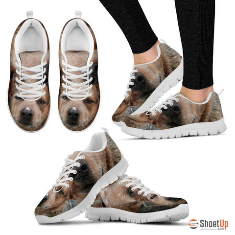 Janie Stone-Hughes Dog Print Running Shoes - Free Shipping
