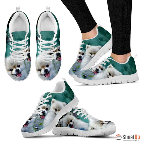 Scott Cumbers's Cute Dog Print Running Shoe (Women) - Free Shipping