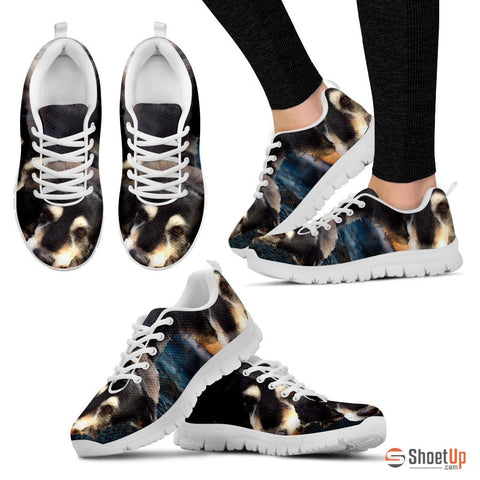Sherry Amaral Barry /Dog Print Running Shoes - Free Shipping