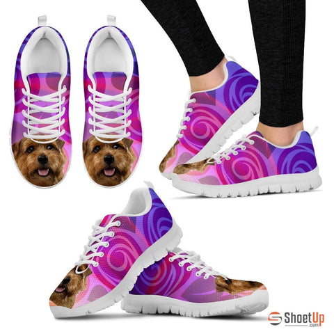 Norfolk Terrier Dog Running Shoes For Women-Free Shipping