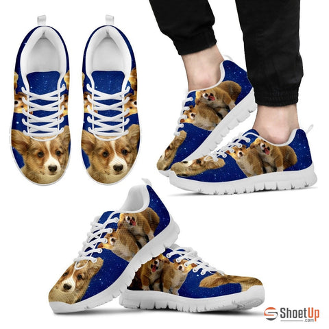 Corgi Dog Men Running Shoes - Free Shipping