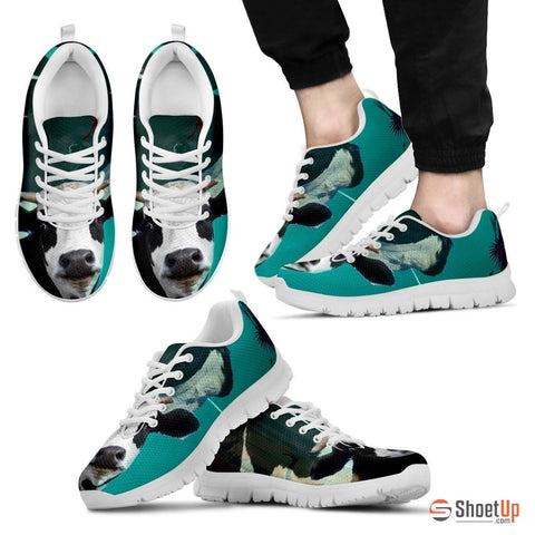 Funny Cow Print Running Shoe (Men/Women)- Free Shipping