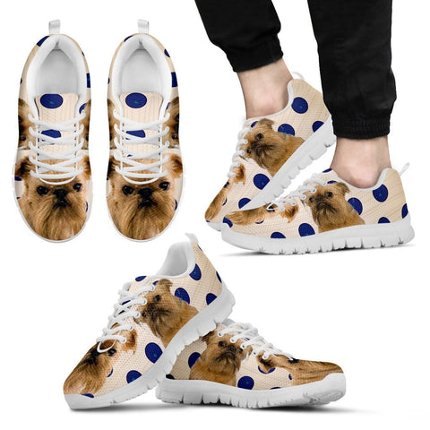 Brussels Griffon Dog Men Running Shoes - Free Shipping