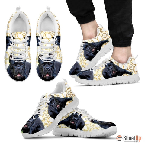 Cane Corso Dog Men Running Shoes - Free Shipping