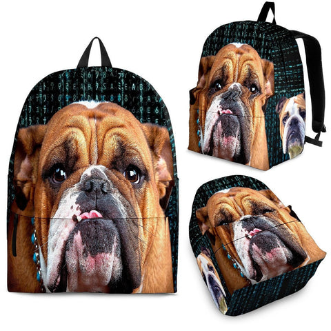 Bulldog Print BackPack - Express Shipping