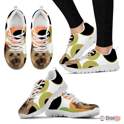 Cairn Terrier Dog Women Running Shoes - Free Shipping