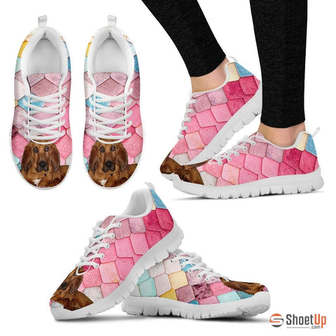 Shoetup - Bloodhound Dog-Running Shoes For Women